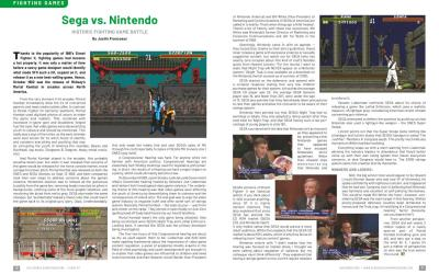 Sega vs. Nintendo – Historic Fighting Game Battle – By Justin Francoeur
