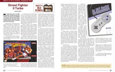 Brett's Old School Bargain Bin – Street Fighter II Turbo – By Brett Weiss