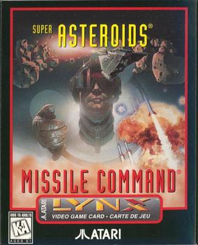 The Last Official Release: Atari Lynx – Super Asteroids & Missile Command (1995)