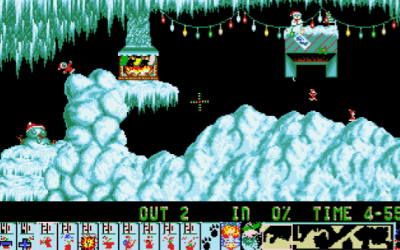 Christmas Lemmings!