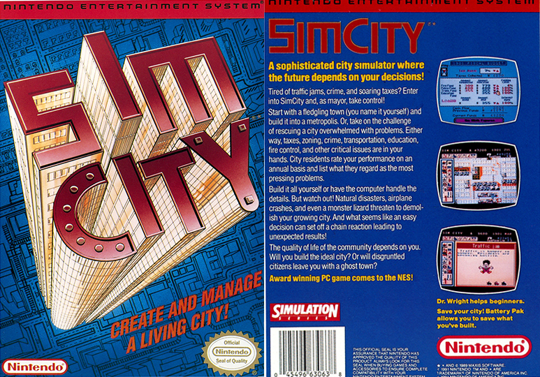 Merry Xmas NES fans, Here's an Unreleased Version of SimCity!