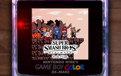 What if Super Smash Bros. Ultimate Was Made for the Game Boy Color?