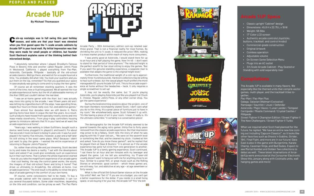 Arcade 1Up – By Michael Thomasson