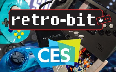 Sega & Nintendo Retro-Bit Goodies at CES 2019