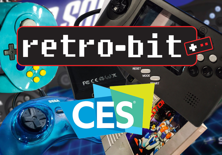 Sega & Nintendo Retro-Bit Goodies at CES 2019