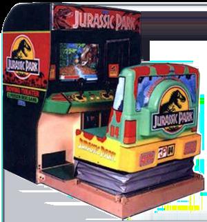 Revisiting Isla Nublar and the Jurassic Park Arcade