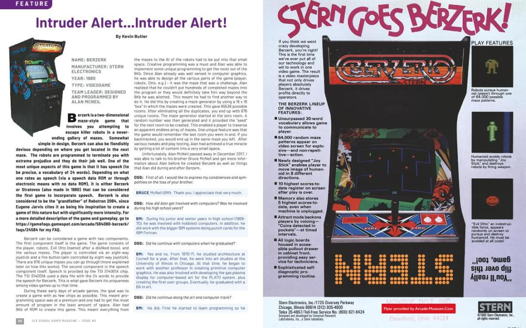 Intruder Alert…Intruder Alert! – By Kevin Butler