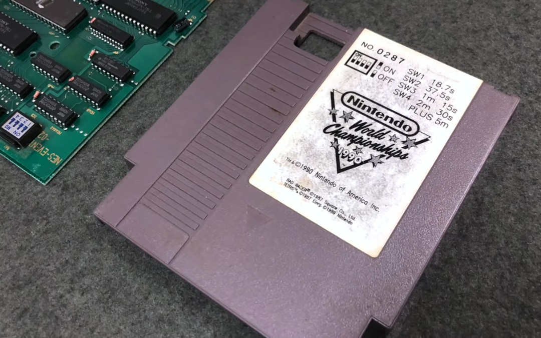 Newly Found Nintendo World Championships Cart Sells for $23,000