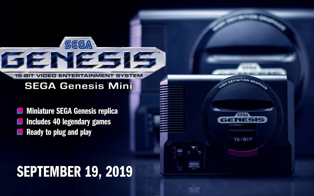 Ten More Games Announced for the Genesis Mini