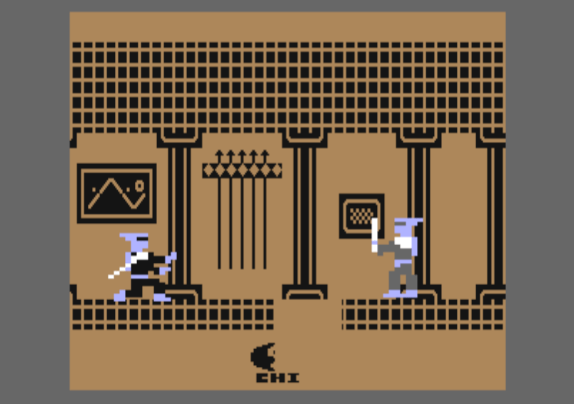 The Last Ninja for the Commodore 64