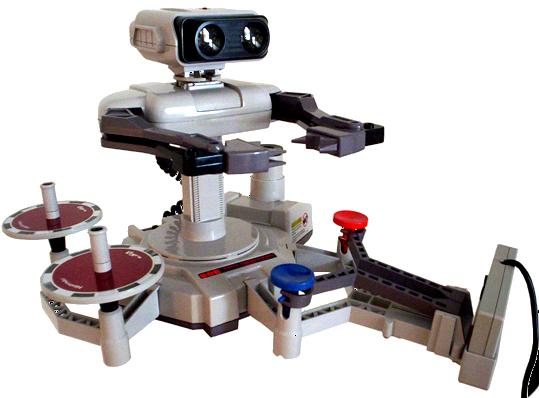 Nintendo's R.O.B.: Your Video Game Playing Robot Buddy