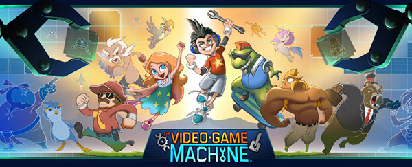 The Video Game Machine – The Game that Makes Games