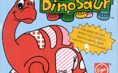 The Cabinet of Curiosities: Color A Dinosaur