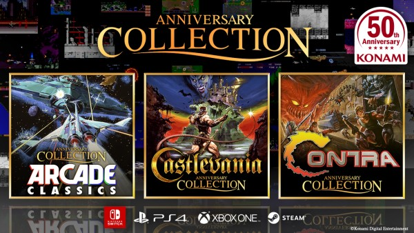 Up Up Down Down Left Right Left Right B A B A Start – The Contra Anniversary Collection Is Here!!!!!