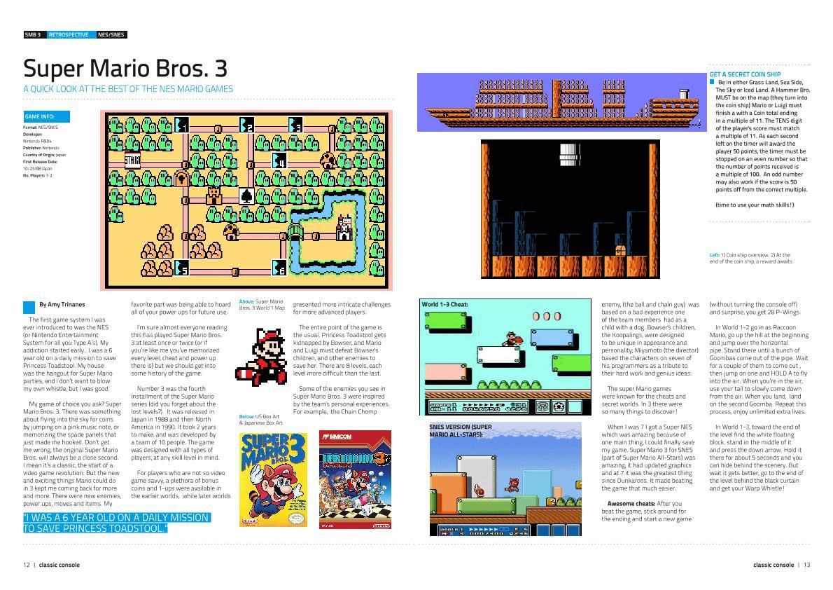 Mario 3 coin ship