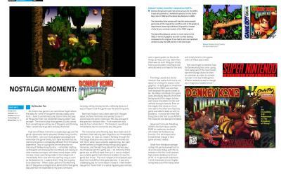 Nostalgia Moment: Donkey Kong Country By Brandon Poe