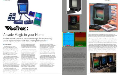 Vectrex: Arcade Magic in your Home By Josh LaFrance