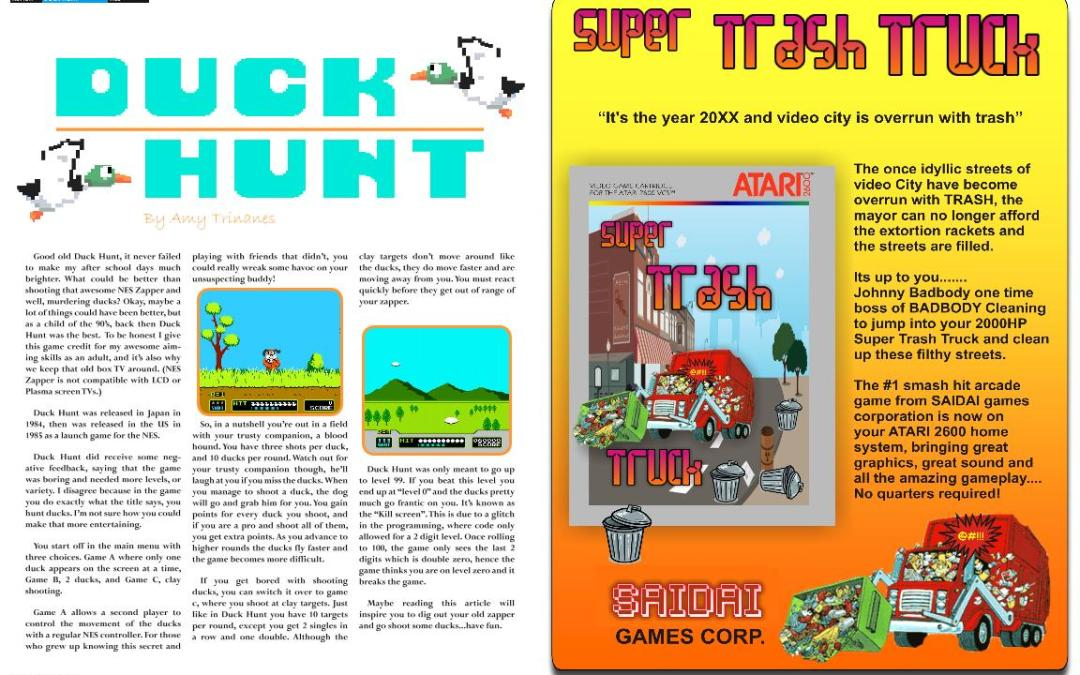 Duck Hunt By Amy Trinanes