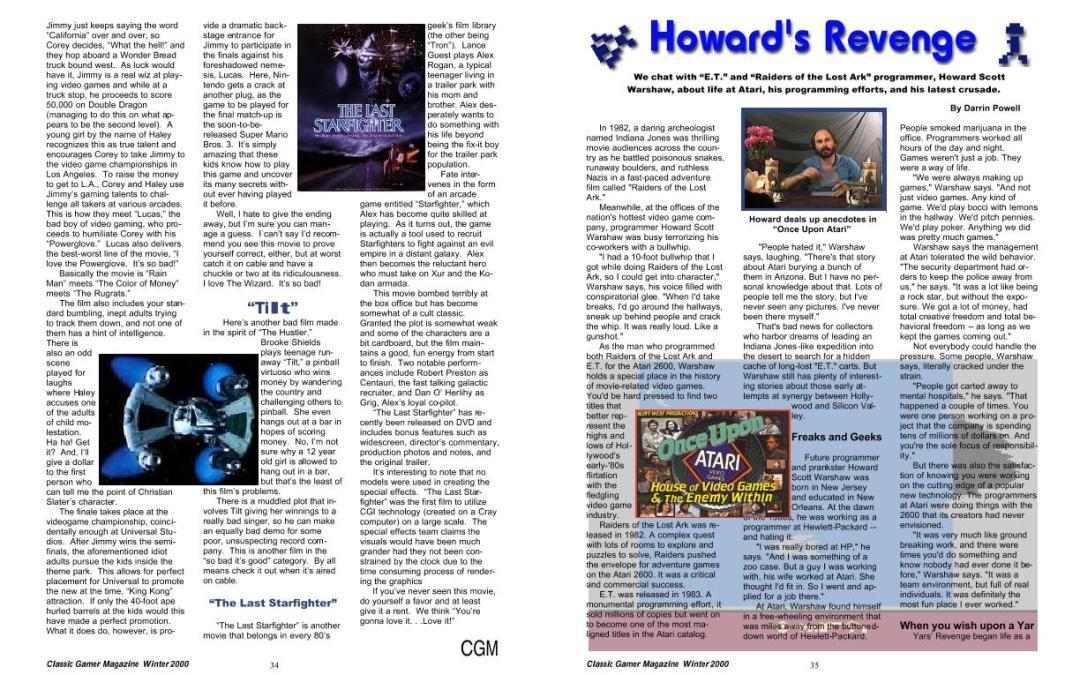 Howard's Revenge By Darrin Powell