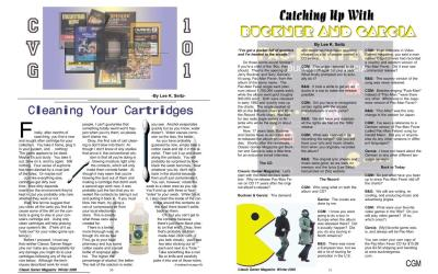 Cleaning Your Cartridges By Lee K. Seitz