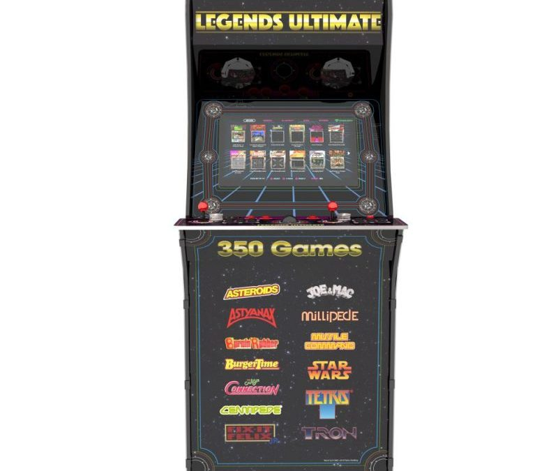 AtGames® Announces the Legends Ultimate Arcade Machine