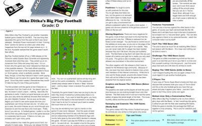 Mike Ditka's Big Play Football