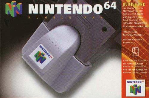 A Closer Look at Nintendo's Official N64 Peripherals: Rumble Pak