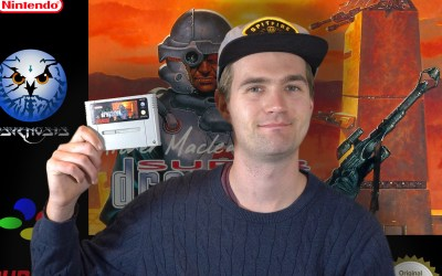 Archer MacLean's Super Dropzone for SNES Review