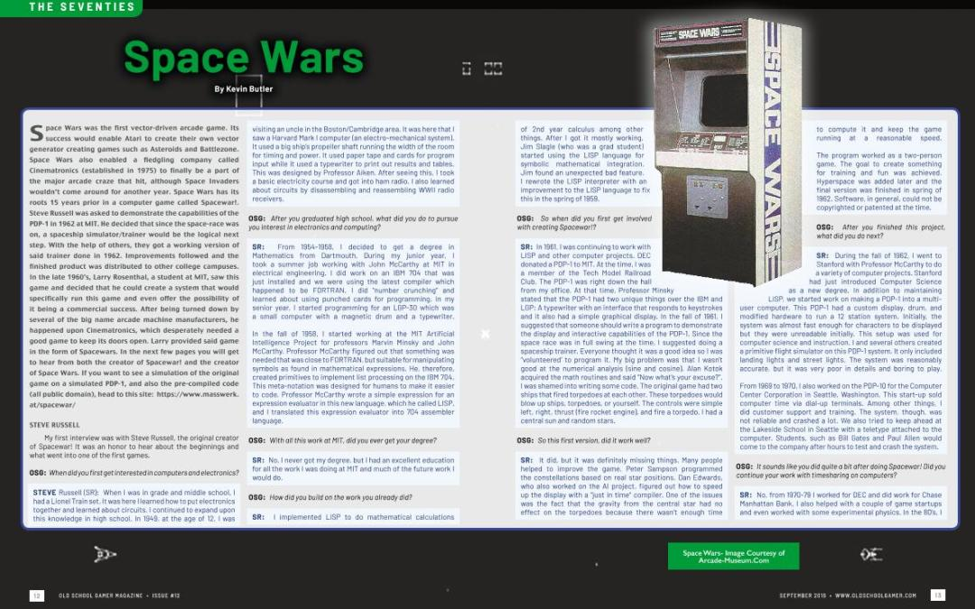 The Seventies: Space Wars – By Kevin Butler