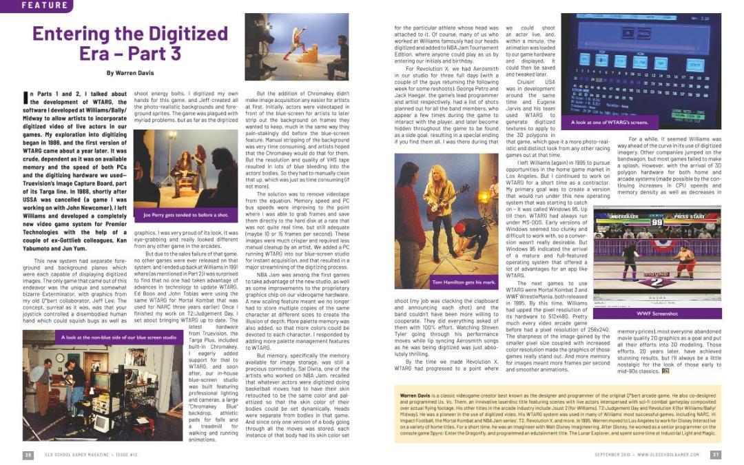 Entering the Digitized Era–Part3 – By Warren Davis