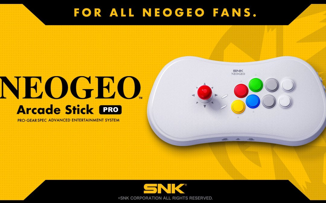 SNK Announces the Neo Geo Arcade Stick Pro