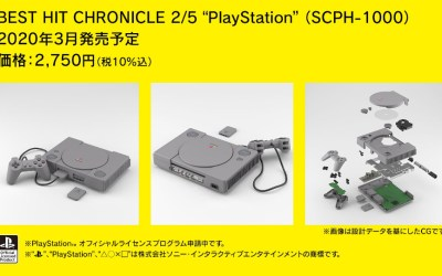 These scale models of the PS1 & Saturn include the Internals too