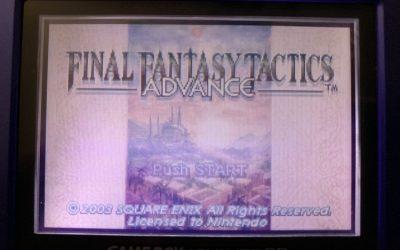 Final Fantasy Tactics Advance: A Really Great Tactics Game