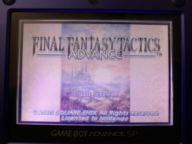 Final Fantasy Tactics Advance: A Really Great Tactics Game