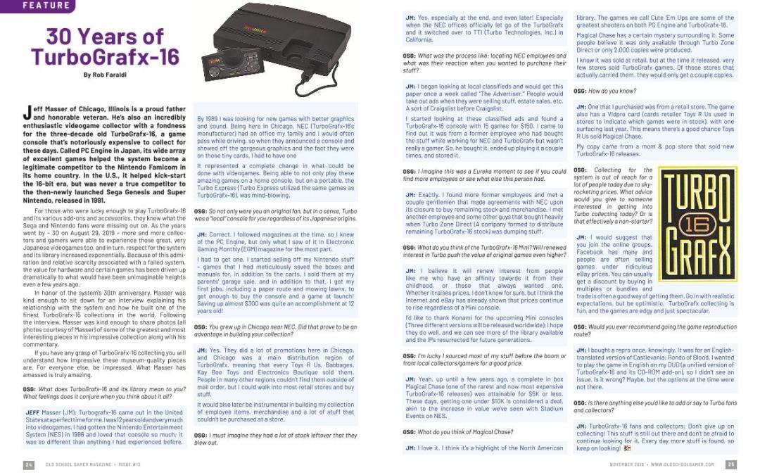 30 Years of TurboGrafx-16 – By Rob Faraldi