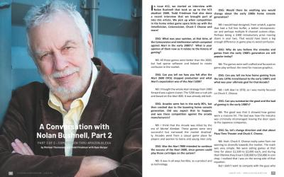 A Conversation with Nolan Bushnell, Part 2 PART 2 OF 2 – Competition Thru Amazon Alexa – By Michael Thomasson and Todd Friedman with Ryan Burger