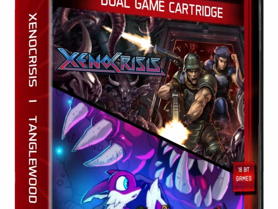 Evercade Announces Award Nominated Indie Game Double Pack, Featuring Xeno Crisis and Tanglewood®
