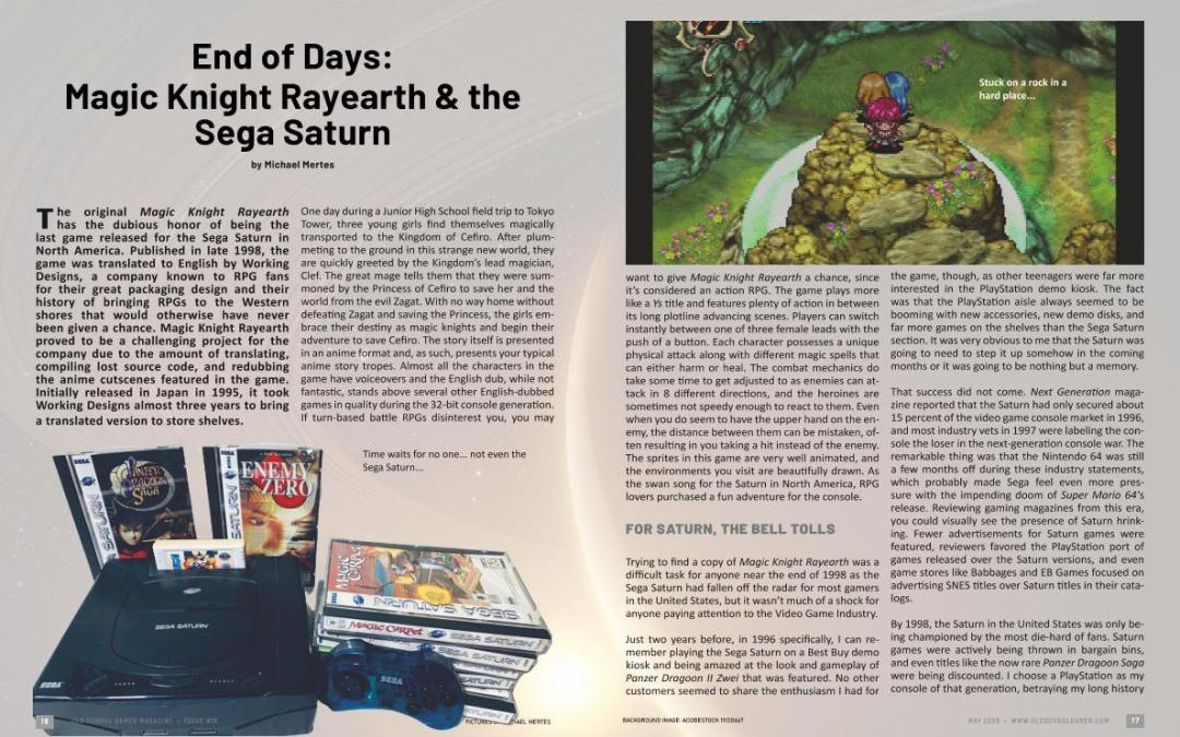 End of Days: Magic Knight Rayearth & the Sega Saturn – By Michael Mertes