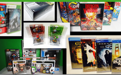 Protecting your retro video game boxes