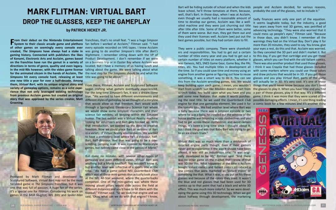 Mark Flitman: Virtual Bart