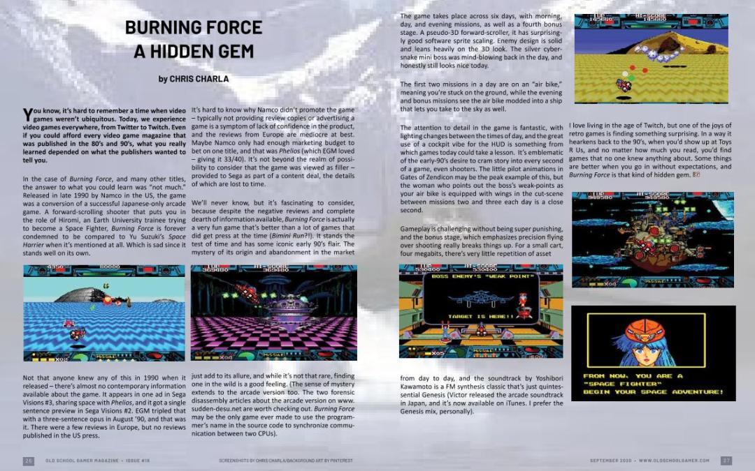 Burning Force – A Hidden Gem