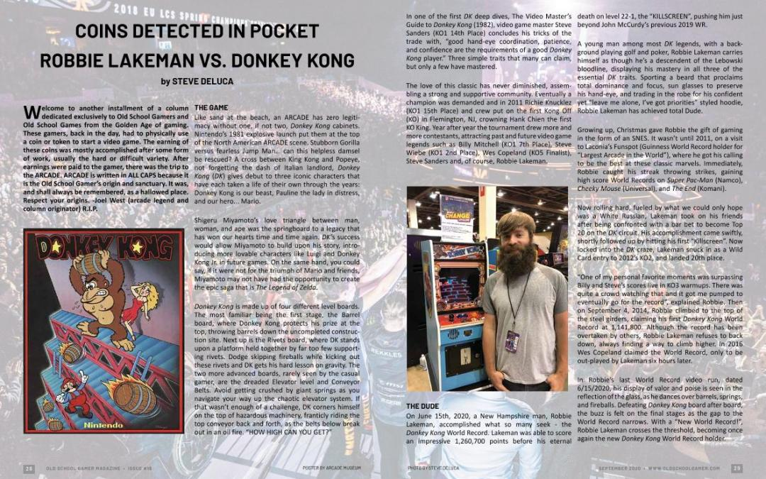 Coins Detected in Pocket – Robbie Lakeman vs. Donkey Kong