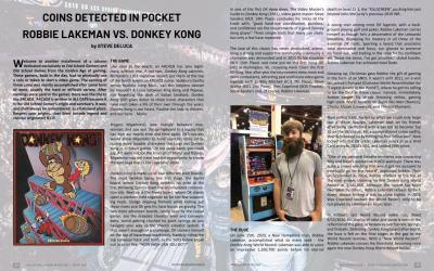 Coins Detected in Pocket – Robbie Lakeman vs. Donkey Kong