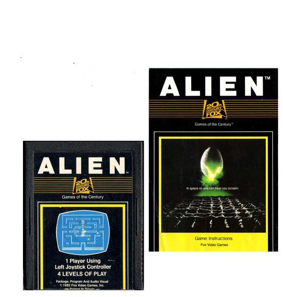Atari 2600 Encyclopedia: Do you know Alien?