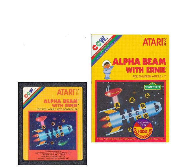 Atari 2600 Encyclopedia: Do you know Alpha Beam with Ernie?