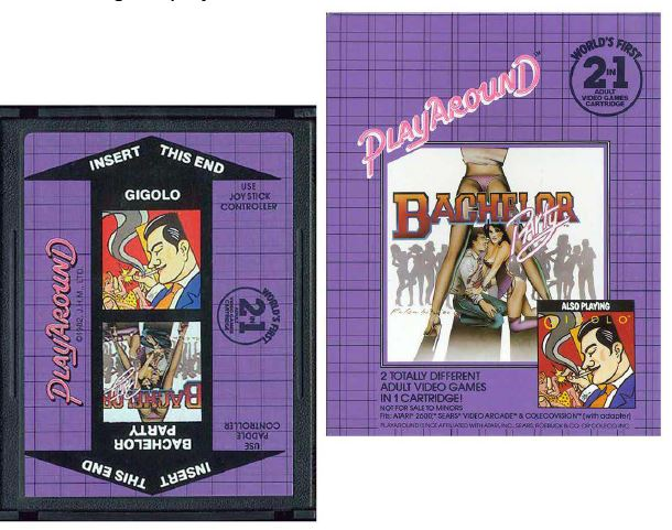 Atari 2600 Encyclopedia: Do you know Bachelor Party / Gigolo?