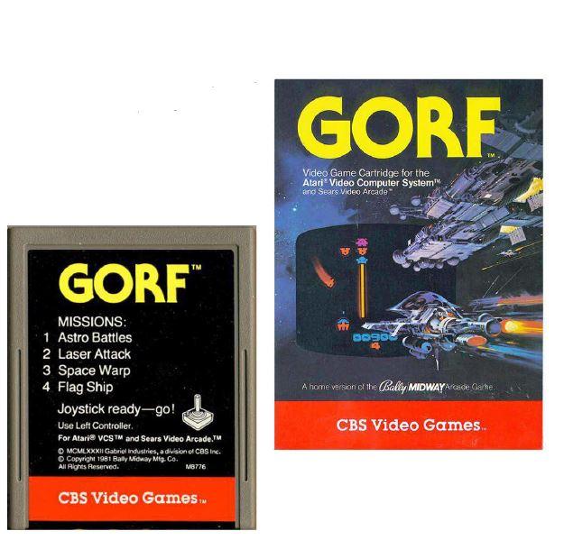 Atari 2600 Encyclopedia: Do you know Gorf?