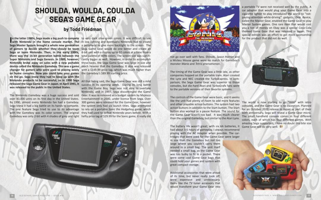 Sega's Game Gear by Todd Friedman