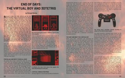 End of Days – Virtual Boy and 3D Tetris – by Michael Mertes