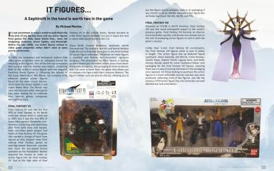 It Figures : A Sephiroth story – by Michael Mertes